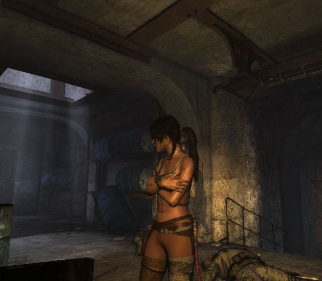 tomb raider naked